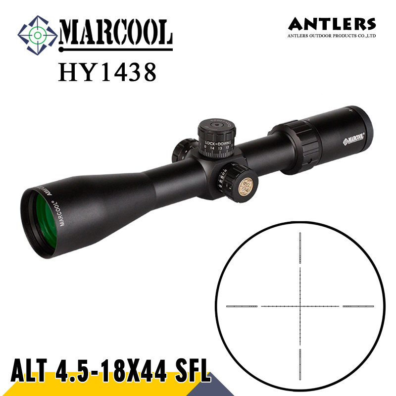 MARCOOL ALT 4.5-18X44SF Riflesocpe Big Wheel Tactical Hunting Riflescopes Real Fire Airsoft Rifle Guns Scopes For Air Rifle marcool alt 4 5 18x44 sfl with big wheel hunting optical sight airsoft air guns scopes riflescope for pistola airsoft air guns