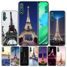 Phone Cases For Huawei Honor 8A 8C 8S 8X 9X 9 10 20 Pro Lite Play 20i 7C Fundas Capas Cover Coque Love Paris Eiffel tower France(China)