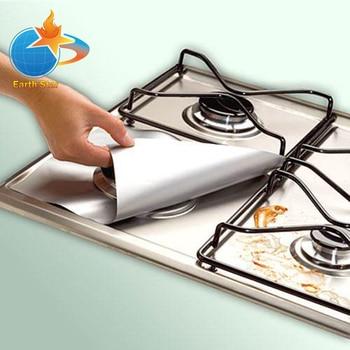 8 PCS Reusable Gas Stove Burner Cover Protector Liner Clean Mat Pad File Injuries Protection -2 8 pcs reusable gas stove burner cover protector liner clean mat pad file injuries protection 2