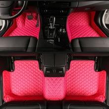 Personalizado esteras del piso del coche para Todos Los Modelos de Opel Astra h j g mokka insignia Cascada adam ampera corsa zafira Andhra estilo piso estera