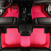 Custom car floor mats for Opel All Models Astra h j g mokka insignia Cascada corsa adam ampera Andhra zafira styling floor mat(China)