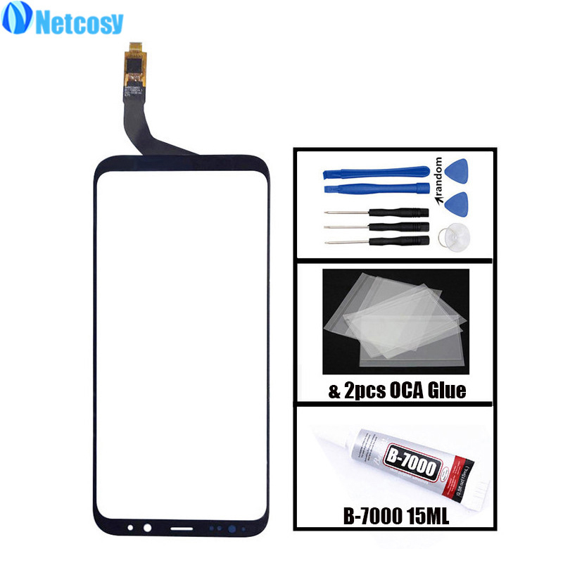 Netcosy S8Plus Touchscreen For samsung S8Plus Touch screen digitizer glass panel For Samsung galaxy S8 Plus