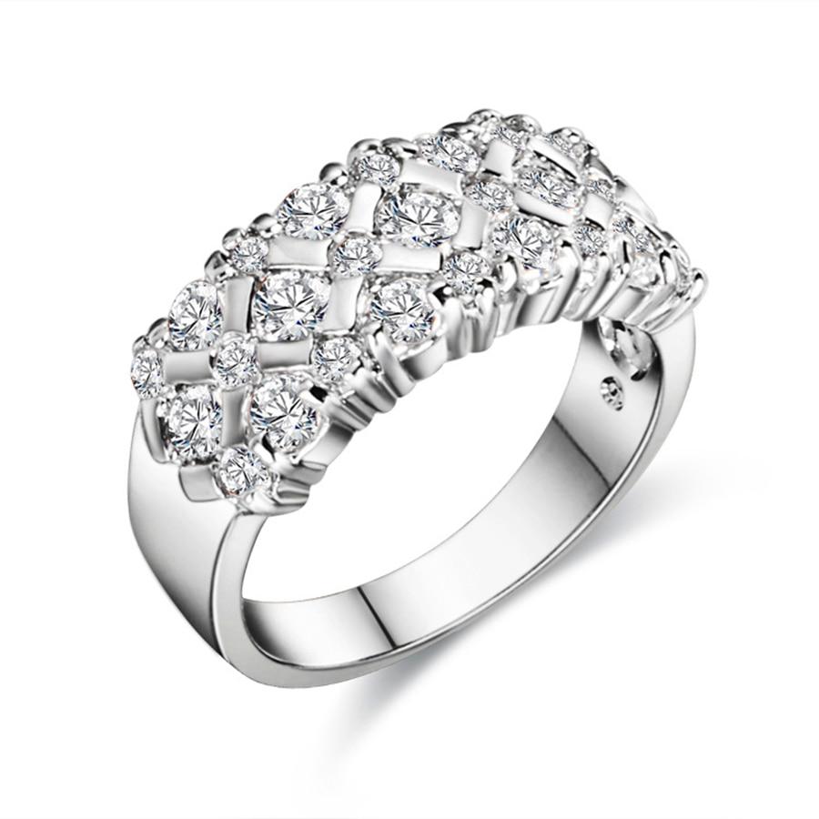 get cheap cluster wedding rings aliexpress