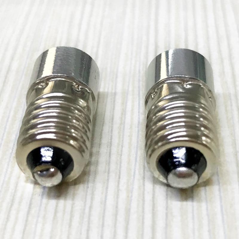 2PCS / lot E10 լապտեր լամպ 0.5w 1w արտակարգ - Լուսավորության պարագաներ - Լուսանկար 5