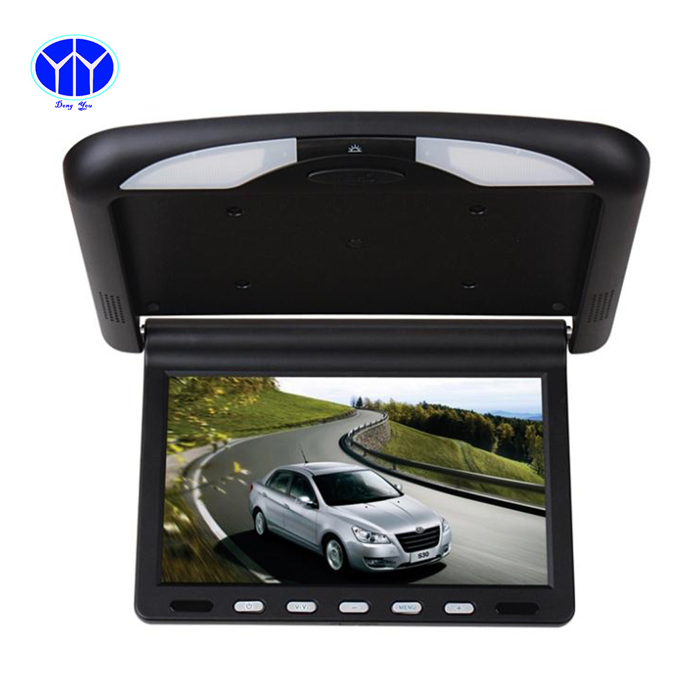 10.4 Inch TFT LCD car Monitor Roof mount ceiling flip down Display connect car DVD Player IR Emission video auto Slim monitor vostok vostok т 10005 32
