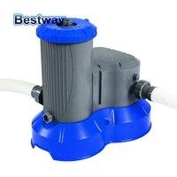 58391/58392 Bestway 2500gal Filter Pump Swimming Pool Flowclear Filter Swimming Pool Water Cleaner Electric Circulating Pump