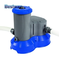 58391 Bestway 2500gal Filter Pump Swimming Pool Flowclear Filter Swimming Pool Water Cleaner Electric Circulating Pump