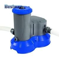 58391 Bestway 2500gal Filter Pump Swimming Pool Flowclear Filter Swimming Pool Water Cleaner Electric Circulating Pump