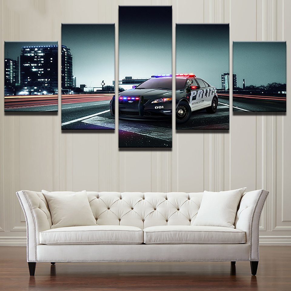 Modern HD Printed Painting On Canvas Home 5 Panel Movie Scene Game Decoration Poster Framework Living Room Wall Art Pictures