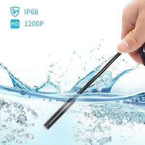 Image 5 - WIFI Endoscoop Camera 8 MM 2/5 M Waterdichte Zachte Kabel Inspectie Camera USB Endoscoop Borescope IOS Endoscoop Voor iphone