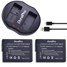 2 шт. DMW-BLC12 BLC12PP BLC12E BLC12 камеры Батарея + USB двойной Зарядное устройство для Panasonic Lumix FZ1000, FZ200, FZ300, G5, G6, G7, GH2, DMC-GX8