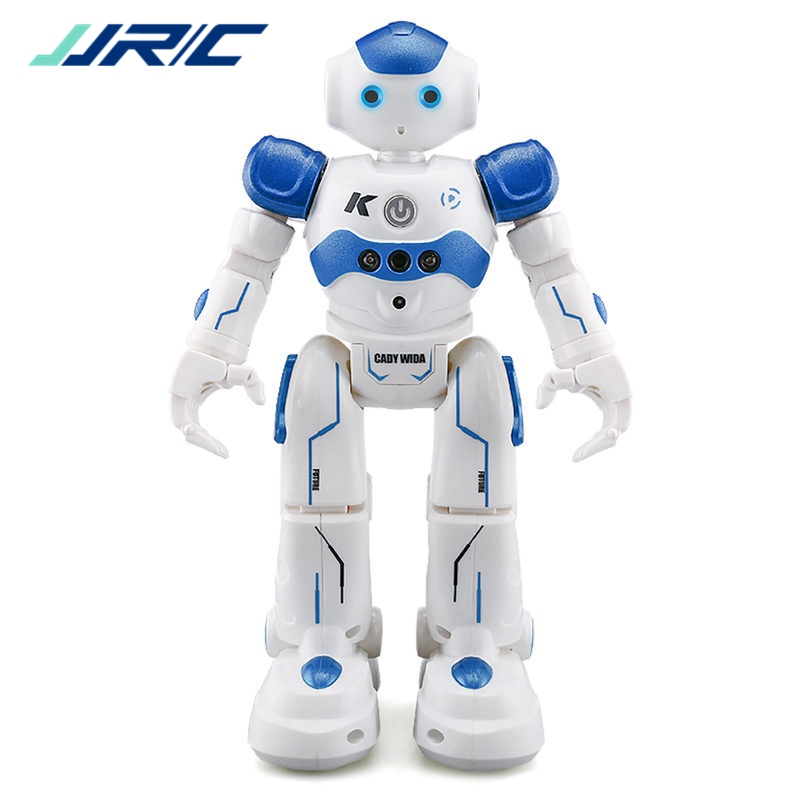 In Stock JJRC R2 USB Charging Dancing Gesture Control Remote Control Robot Toy Blue Pink for Children Kids Birthday Gift Present jjrc r3 rc robot toys intelligent programming dancing gesture sensor control for children kids f22483 f22483