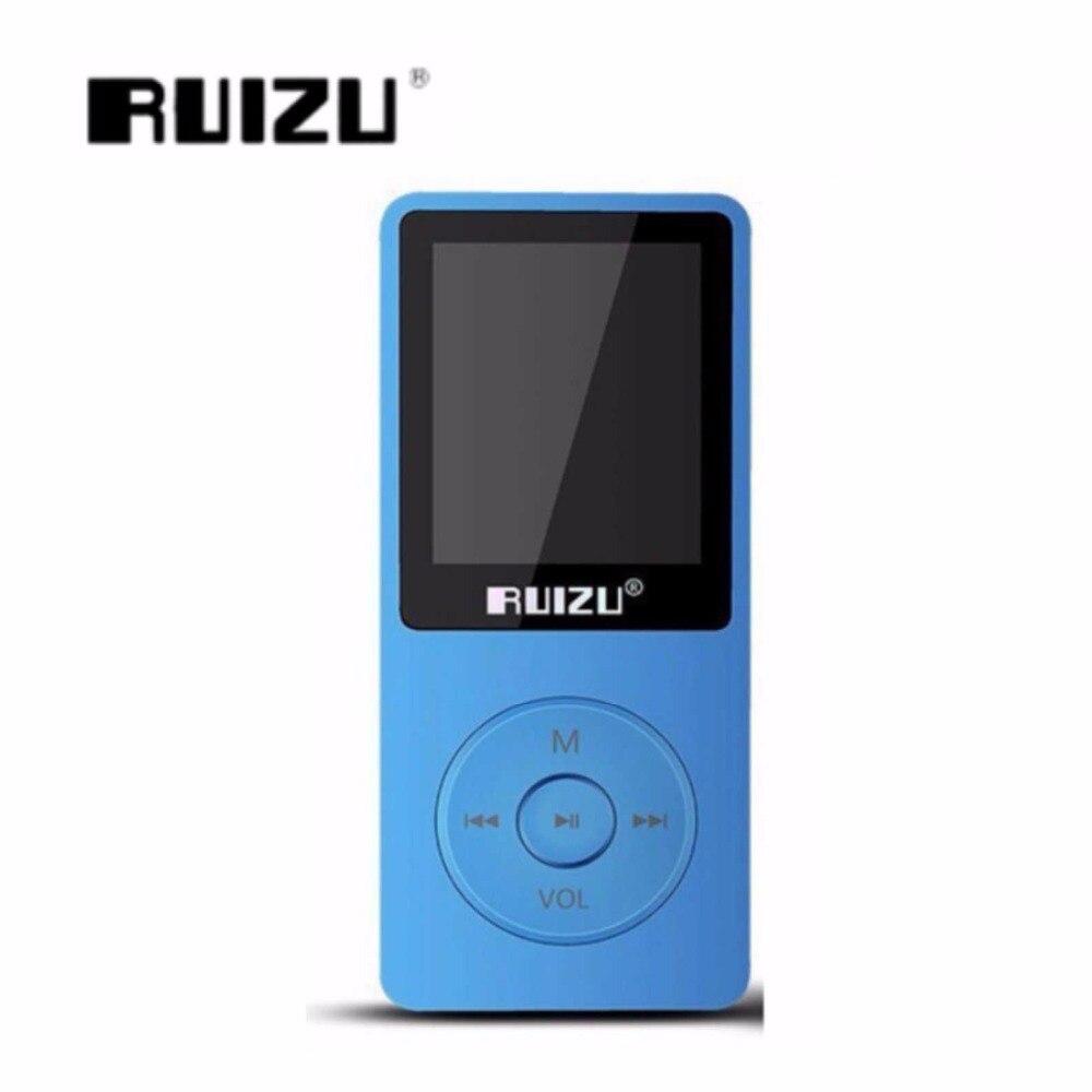 Ruizu X02 Ultradünne Mp3-player Usb 8 Gb 4 Gb 16 Gb 1,8 Zoll Drehbuch 80 H Hochwertigen Mp3 Player Radio Fm E-buch Musik Player Tragbares Audio & Video