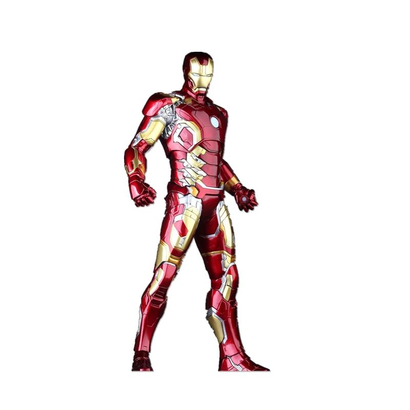 SAINTGI Iron man New Avengers Stark Tonny MK43 Marvel Action Figures PVC Hot Magic Animation Collection Model