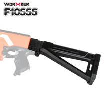 Worker Mod Shoulder Stock Replacement Kit Shoulder TailStock Buttstock Toy Accessories For Nerf N-strike Elite Toy Gun Parts New