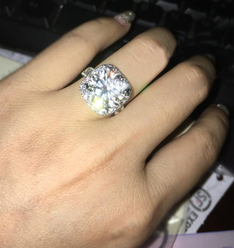 Real Diamond Rings From China