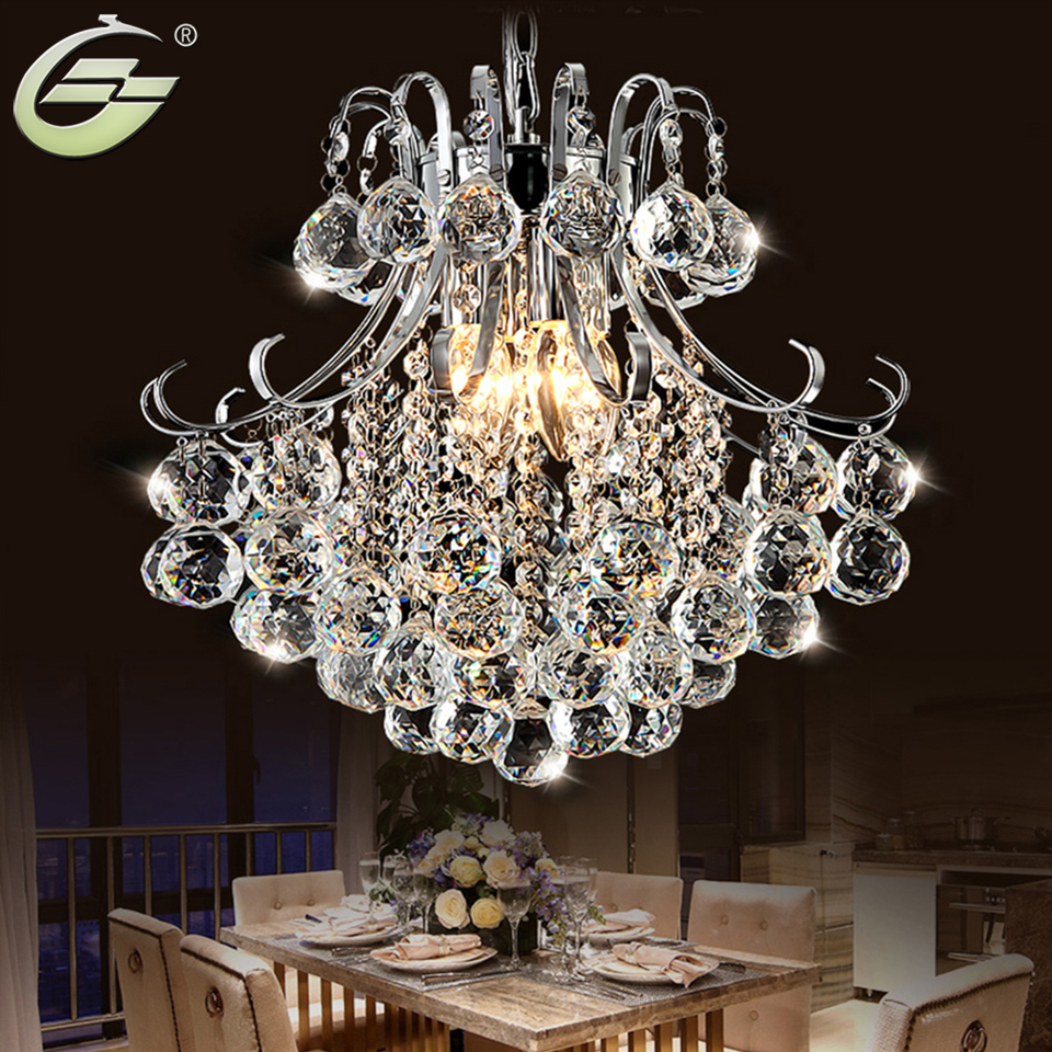Crystal luxury chandelier nordic modern fixture light for Crystal home decorations