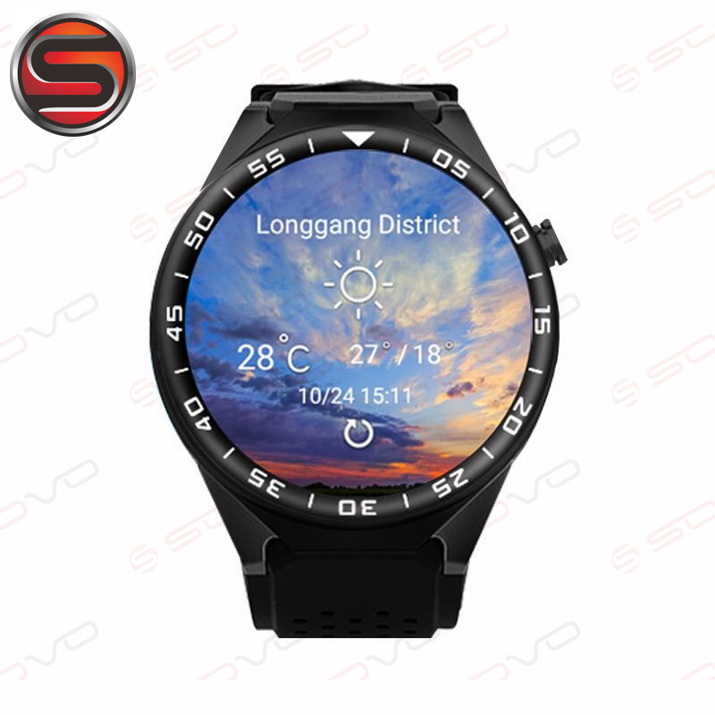 SOVOGU G27 WIFI 3G Smartwatch plus Cell Phone All-in-One Bluetooth Smart Watch Android5.1 SIM Card GPS Camera Heart Rate Monitor