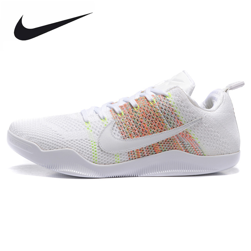 pretty nice db36f 9f5bb ... ireland nike kobe 11 elite low 4kb mens basketball shoes outdoor  sneakers shoeswhitebreathable wear resistant 824463