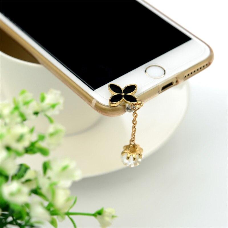 Universal 3.5mm Diamond Dust Plug Mobile Phone accessories Gadgets Earphone Ench
