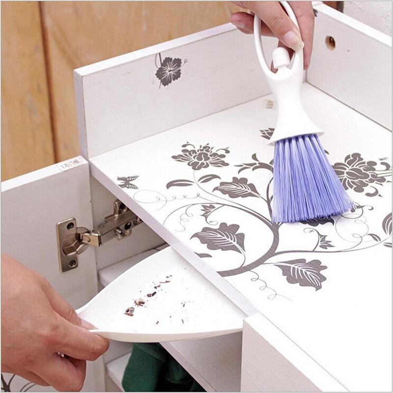 Mini cepillo de limpieza de plástico para el salpicadero del coche, teclado y toma de aire, cepillo para el reposabrazos 51815