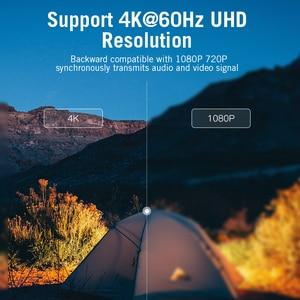 Image 5 - Kabel USB C HDMI 4K 60Hz HDMI typ c do HDMI 2.0 dla MacBook Samsung Galaxy S10/S9 Huawei Mate 20 P20 Pro Thunderbolt 3 Adapter