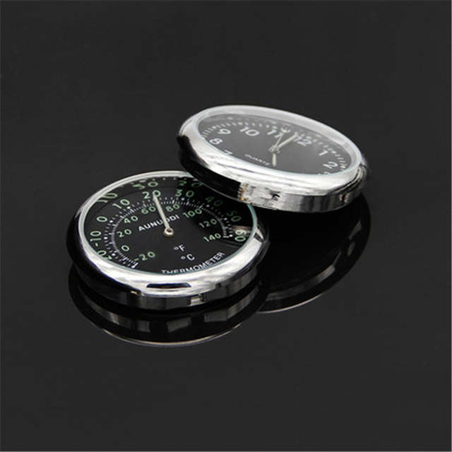 Us 1213 6 Offluminous Samochodów Zegar Termometr Samochodowy Elektroniczny Zegarek Rozkład Jazdy Cyfrowy Zegarek Kwarcowy Akcesoria Samochodowe 1