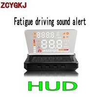 New E260 4 Inch Car HUD Head Up Display OBD II Engine Fault Alarm&Code Elimination Automatic Speedometer Consumption Display