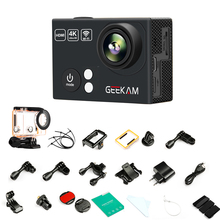 New Pattern GEEKAM H2R Ultra 4K WIFI 2.0″ Pro Action Go Camera Cam Video 1080P/30FPS 720P/60FPS 170D Waterproof Sports Camera