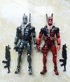 18 cm superhéroe Marvel X-MAN Deadpool Deadpool figura PVC muñeca Figura de Acción de Juguete de Colección de Navidad regalos sin caja de Origen