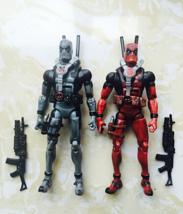 18cm Super hero Marvel X-MAN Deadpool figure PVC doll Deadpool Action Figure Collectible Toy Christmas gifts no Origin box fire toy marvel deadpool pvc action figure collectible model toy 10 27cm mvfg363