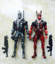 Фотография 18cm Super hero Marvel X-MAN Deadpool figure PVC doll Deadpool Action Figure Collectible Toy Christmas gifts no Origin box