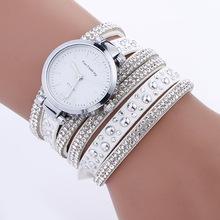 New Fashion Women Watches Thin Multi Layers Winding Quartz Bracelet Watch PU Leather Wristwatch Relogio Feminino reloj mujer