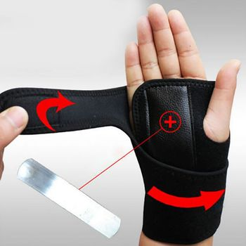 New Arrival Bandage Orthopedic Hand Brace Wrist Support Finger Splint Carpal Tunnel Hand Wrist Support Brace adjustable finger joint splint orthodontics fixer finger joint physical exercise protection fracture support brace 75x30x27cm