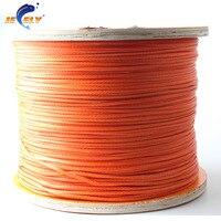 Free Shipping 1000M PCS 1100LB Dyneema Braid Kite Line 2MM 12 Weave