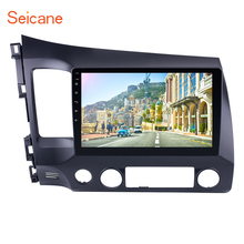 Seicane 2Din Android 6.0/7.1 10.1″ Car Radio Audio Stereo Tochscreen Multimedia Player GPS Head Unit For Honda Civic 2006-2011