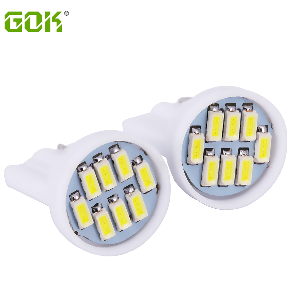 T10 8led Car Led Auto W5w 194 led T10 8smd led 3014 Wedge Lamp Bulbs Side Indicator Light 100pcs/lot