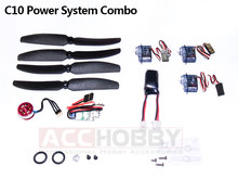 Micro Power System Combos,C10 (Including propeller saver,propeller,motor(KV 2900),ESC,servo,battery)