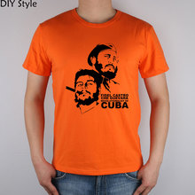 Che Guevara Kuba Kubanischen t-shirt Baumwolle Lycra Top t-shirts Hohe Qualität T-shirt Männer
