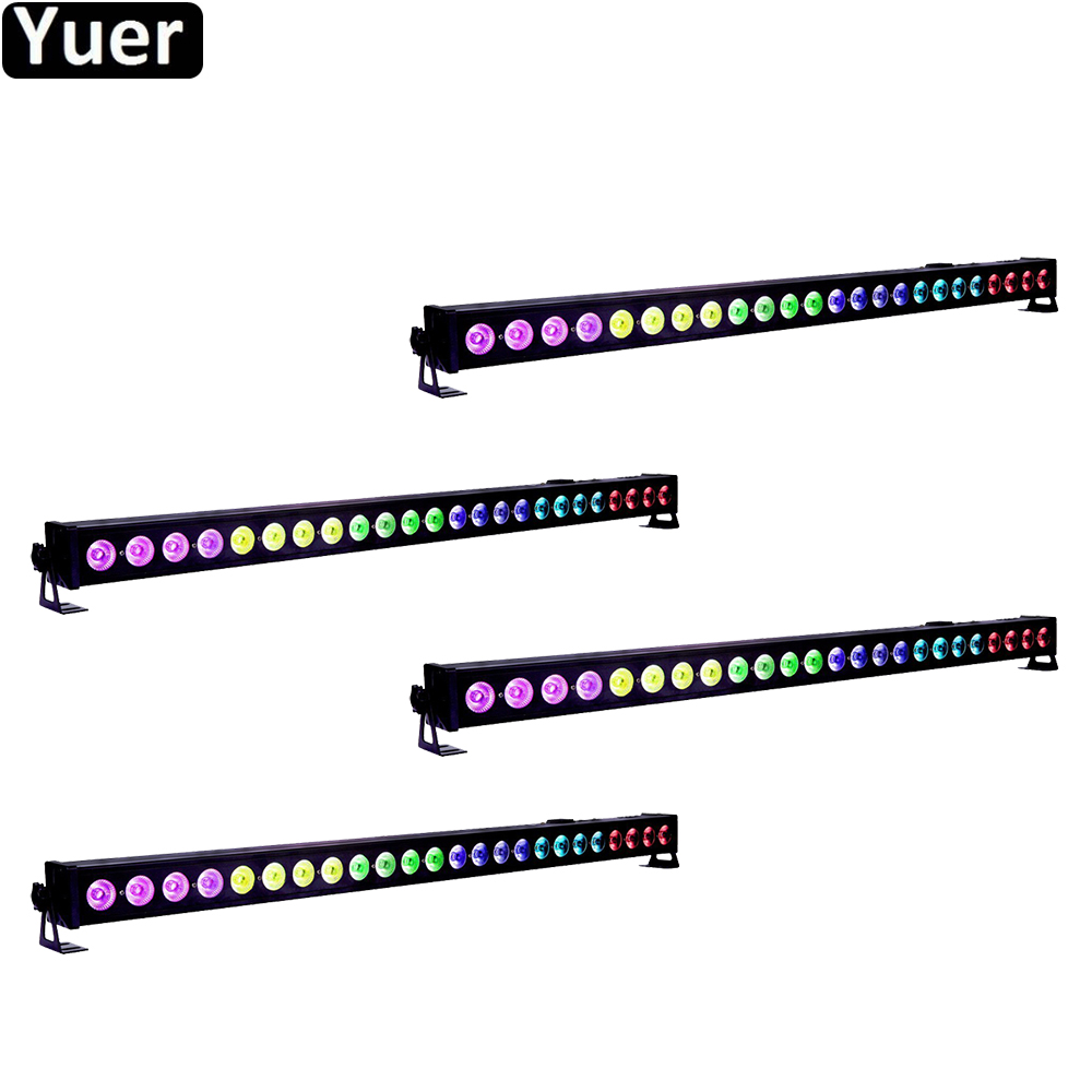 4Pcs/Lot 24x4W LED Wall Washer Light Bar LED RGBW 4IN1 Stage Light Party DJ Show Displays LED Beam Club Dj Disco KTV Stage light