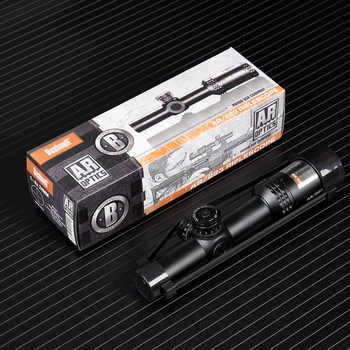 1-4x24 AR Optics Drop Zone-223 Reticle Tactical Riflescope With Target Turrets Hunting Scopes For Sniper Rifle - DISCOUNT ITEM  40% OFF All Category