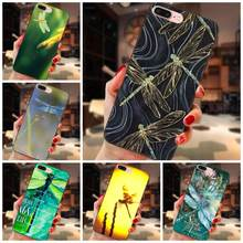 TPU Live Love Phone For Huawei Y3 Y5 II Y6 Y7 Y9 nova 2 Plus 2S 3i 4 Lite Plus Prime 2017 2018 2019 Beautiful Dragonflys(China)