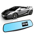 2.8 Full HD 1080P Auto Car DVR Rearview Mirrors Camera Video Recorder Dash Cam