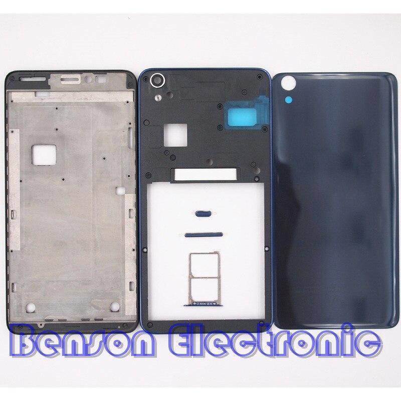 bilder für BaanSam Neue Frontrahmen Mittleren Frame Glas Batterie Rückseitige Abdeckung SIM karten-behälter für lenovo s850 s850t gehäuse case mit seitlichen tasten