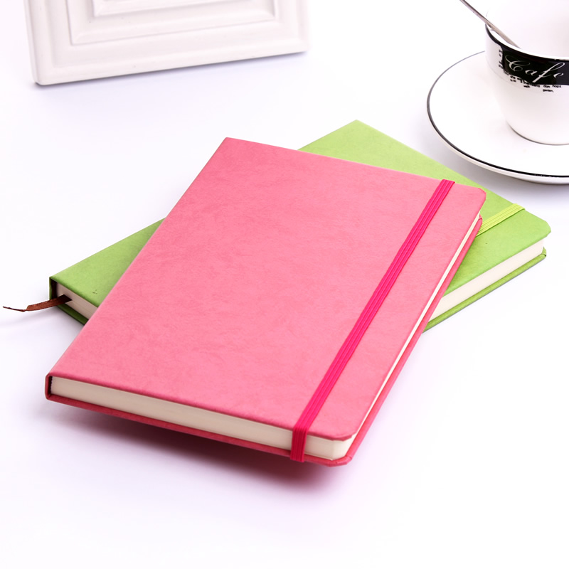 Creative A5 notebook stationery Notepad diary note book binding business book agenda journal planner office school gifts fashion business pu leather a5 notebook portable black red book travel journal planner diary stationery office & school supplies
