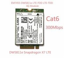Yeni EM7455 DW5811E PN 2J05X FDD/TDD LTE için CAT6 4G Modülü 4G Kart E7270 E7470 E7370 E5570 E5470