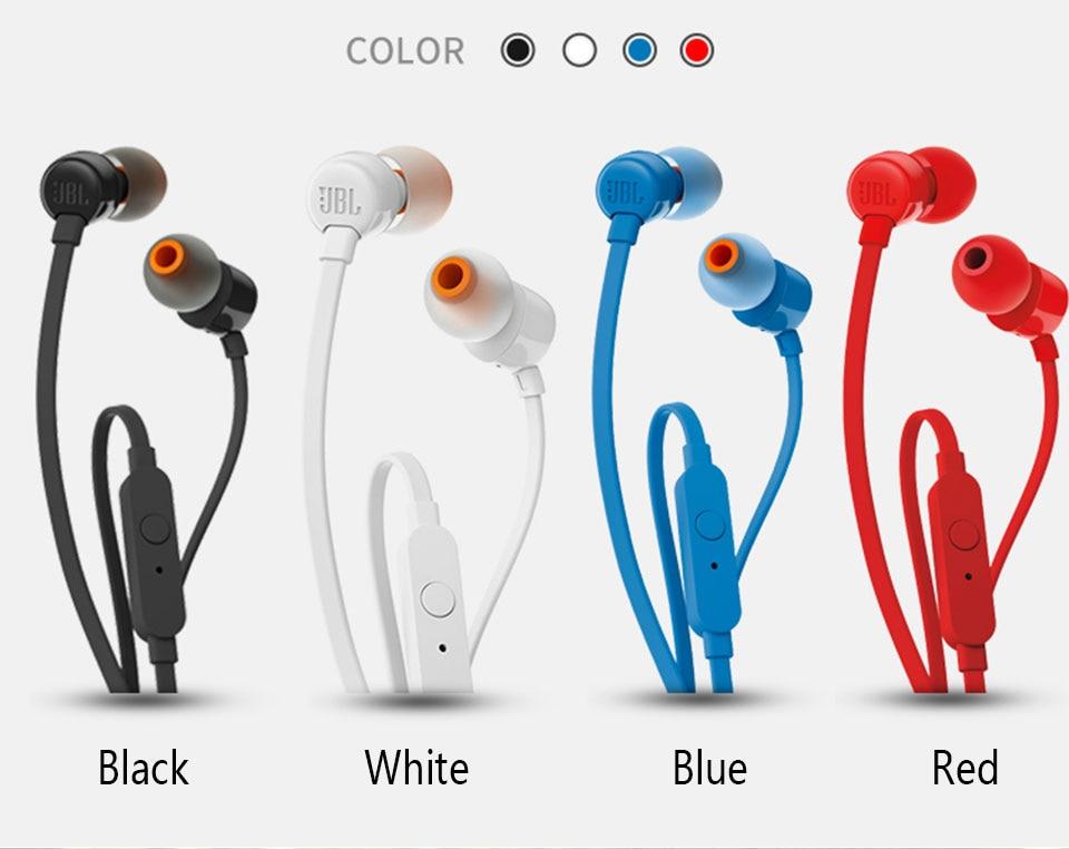 Jbl T110 3 5mm Wired Earphones Getwired Tronics