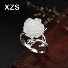 Женское кольцо ручной работы из серебра 100% пробы в китайском