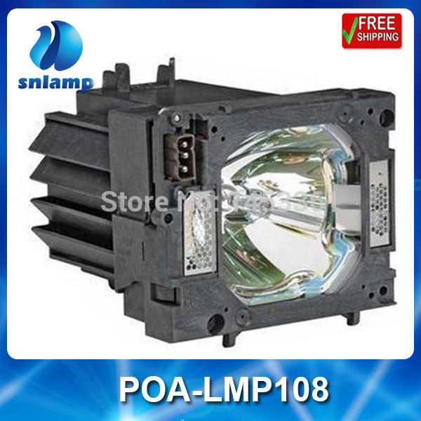 Replacement projector lamp bulb POA-LMP108/610-334-2788 for PLC-XP100 PLC-XP100LReplacement projector lamp bulb POA-LMP108/610-334-2788 for PLC-XP100 PLC-XP100L