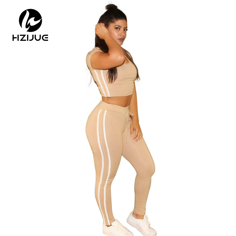 119e10277422 HZIJUE Summer Casual Jumpsuit Romper 2 piece set Outfits Round Neck Hooded  Bodycon Short Sleeve Sexy Jumpsuits Playsuit Wear-in Jumpsuits from Women s  ...